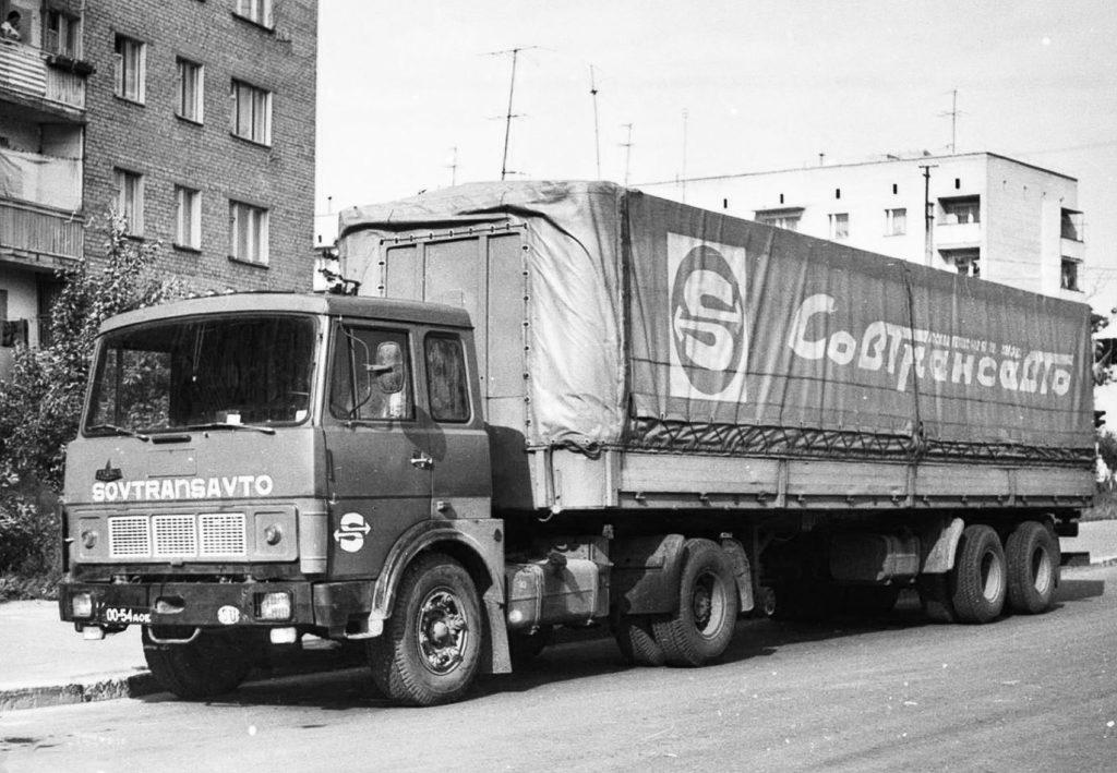"""Случай на дороге в СССР Какое отношение """"Совтрансавто"""" к водителям."""