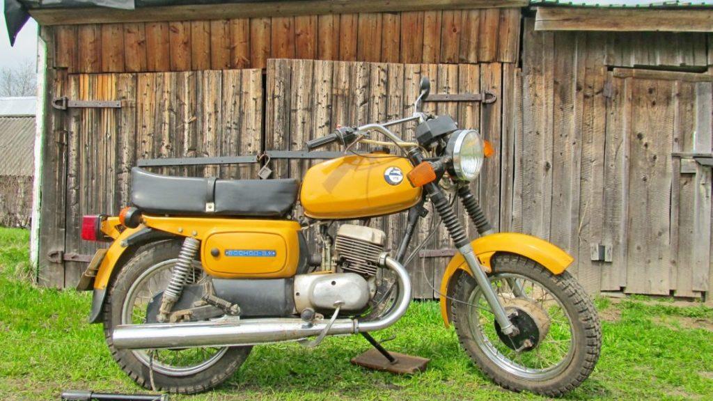 Один из лучших мотоциклов СССР, Восход 3М