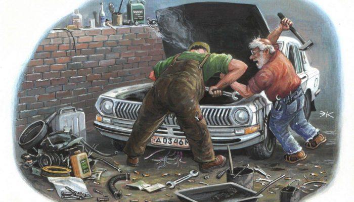 «Это деталь лишняя…» или Как любят ремонтировать автомобиль в России.