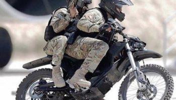 Бесшумный мотоцикл для военных, который захочет себе каждый